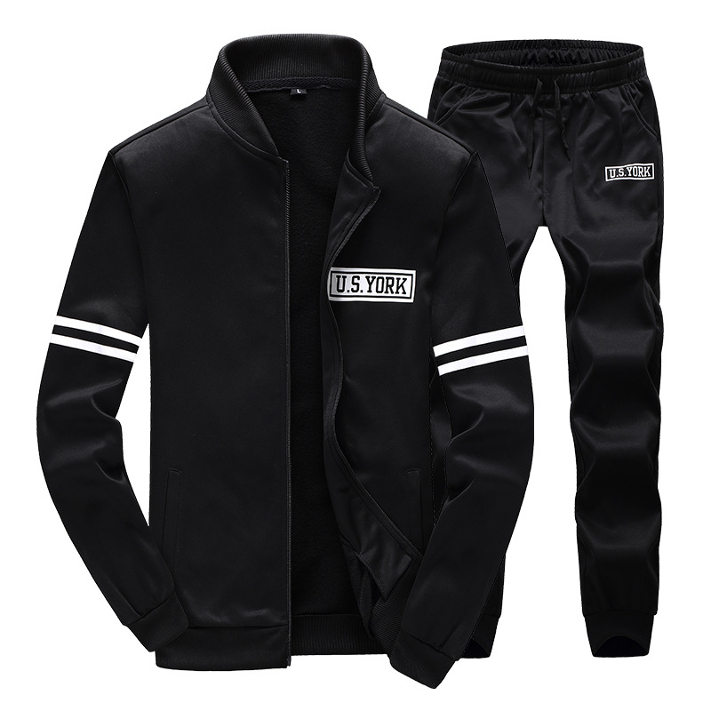 Tracksuits Men Leisure Suit Luxury Men's wear Brand Hoodies Hip Hop Jogger Set Cool Sweatshirt Sudaderas Hombre 2016 #EM006 - Asali Clothes Factory Trade CO., LTD store