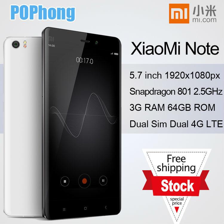 Мобильный телефон F Xiaomi mi 4G LTE Snapdragan810 2,5 , 3g 64 rom 5,7 13.0mp