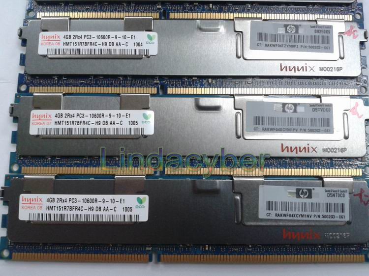 Original for Hynix modern 4gb/4GB/4G pc3-10600r server ram 4g ddr3 1333 ecc reg(China (Mainland))