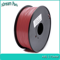 ABS 1.75mm Brown 3D Printer Filament 1kg Spool Dimensional accuracy 0.03mm Plastic Material For 3D Pen 3D Printer