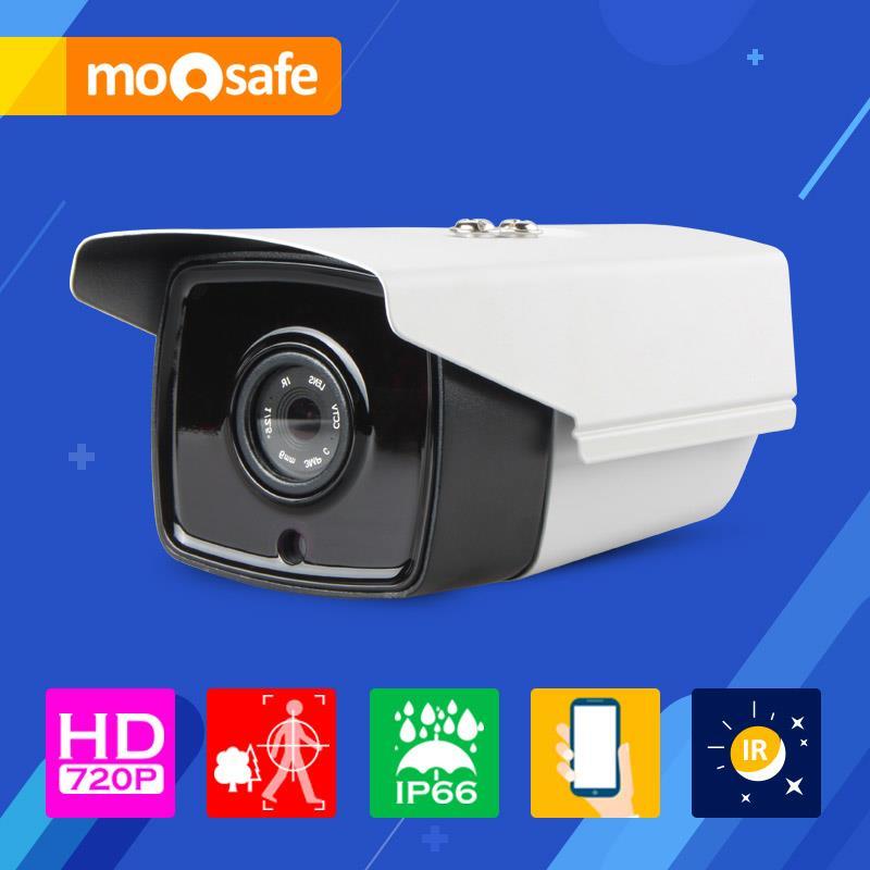 "Mosafe 1/4"" CMOS 1280*720P 1mp ip camera waterproof outdoor IR night vision Motion Detection Onvif Surveillance Cameras(China (Mainland))"