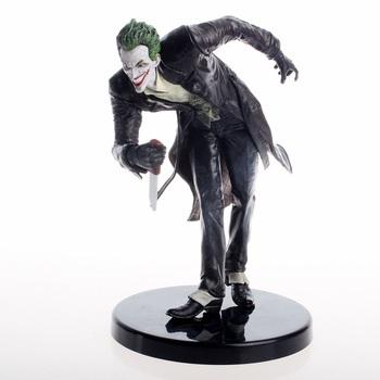 DC Arkham Batman Series The Joker Action Figure Toys Vinyl Doll