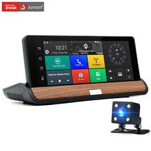 Junsun Новый 3 Г 7 дюймов Автомобиля GPS Навигации Bluetooth Android 5.0 Автомобильные Навигаторы с DVR Автомобиля спутниковой карты(China (Mainland))