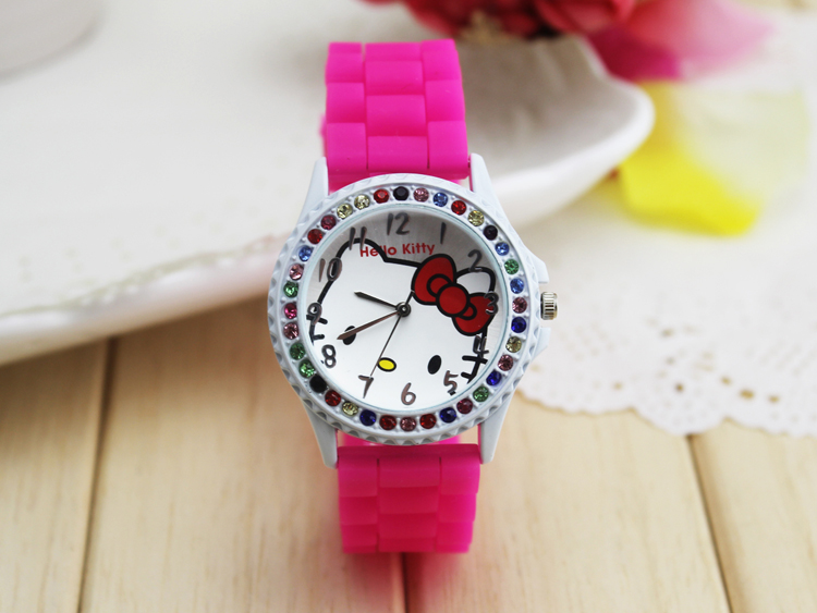Toy Hello Kitty Watch : Popular toy watch crystal buy cheap lots