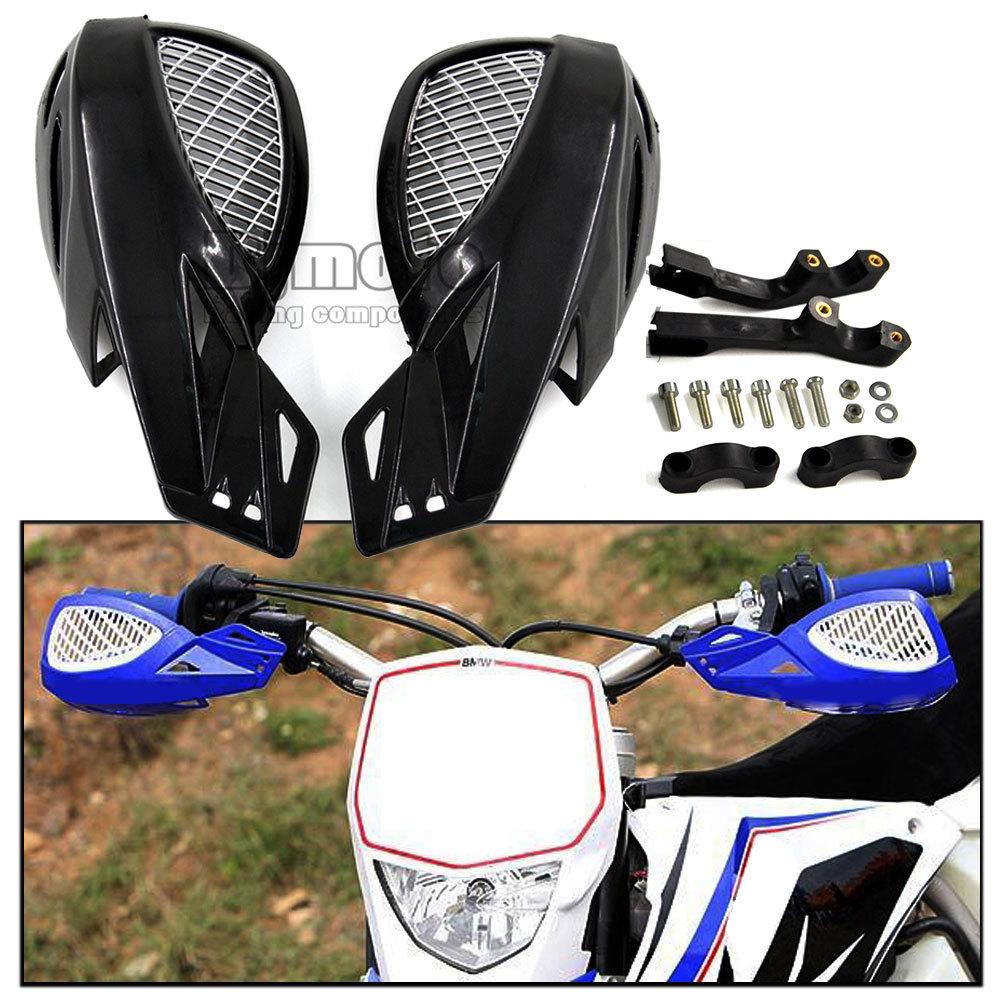 "HG-005A-BK Black 7/8"" ATV Accessories Motorcycle Brush Bar Hand Guards Handguard For Honda Yamaha Suzuki KTM(China (Mainland))"