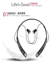 Newest HBS500 Bluetooth headset with retail box & gifts for all model mobile phone with bluetooth high quality free shipping