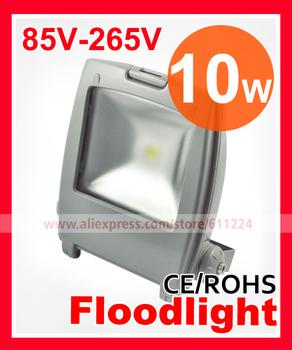 4pcs/lot High Power IP65 10W Waterproof COB LED Flood Lamp Outdoor Light AC85V-265V 2 Years Warranty