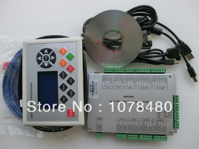 laser dsp controller awc608 4 axis(China (Mainland))