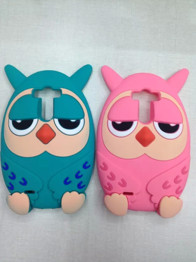 Korean Style cartoon owl 3D Cute Cartoon Lovely Soft Silicone Phone Case Back Cover LG G3 D855 - Shady's Online Store store