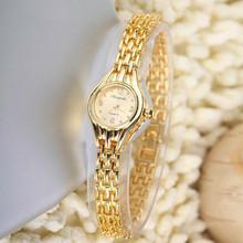 Ladies Gold Watches Women Golden Clock Women Dress Watches Top Luxury Brand Wristwatches Relogio Feminino Dourado Reloj Mujer