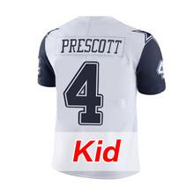Kids Youth #4 Dak Prescott White Color #21 Ezekiel Elliott Rush Limited #88 Dez Bryant Witten #82 Jason Witten Jerseys(China (Mainland))