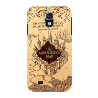 The Marauders Map Case for Samsung Galaxy S5 i9600 Diy Plastic Housing