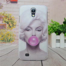 Stylish Marilyn Monroe Bubble Gum Hard Cover Case For Samsung Galaxy S4 SIV i9500 Back Case Cover For s4