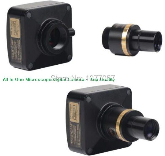 Free shipping,All in one 5Mp USB2.0 microscope digital eyepiece camera +0.5X reducing lens  support XP/Vista/W7/W8/MAC<br><br>Aliexpress
