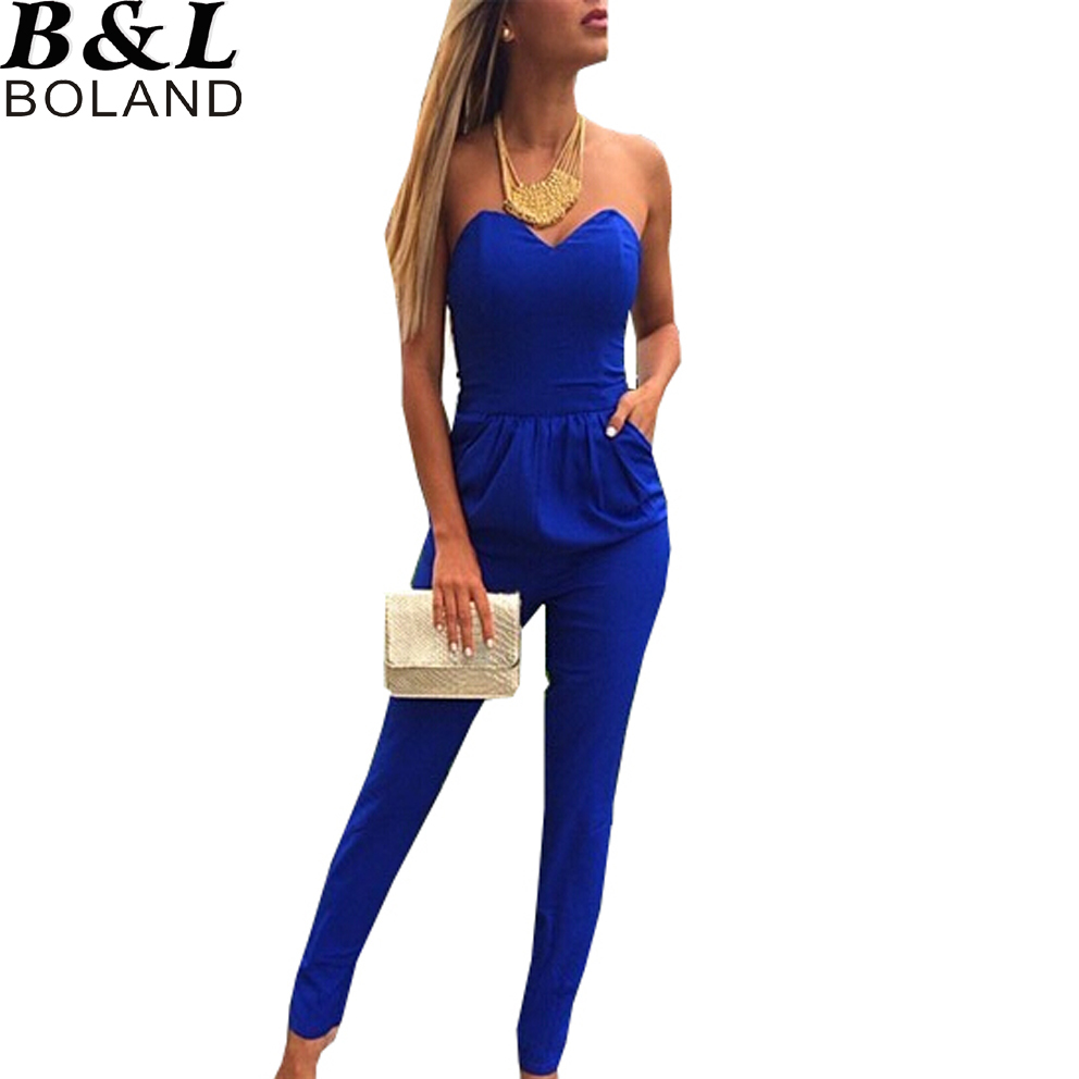Simple Popular Royal Blue Jumpsuits-Buy Cheap Royal Blue Jumpsuits Lots From China Royal Blue Jumpsuits ...