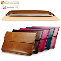For Macbook 13 case Ultrabook Sleeve Genuine Leather Case for Macbook Air 11