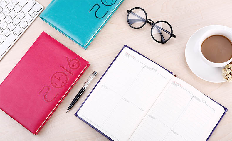2016 the schedule commercial book a5 notebook day/week/month planner time agenda organizer school office stationery<br><br>Aliexpress
