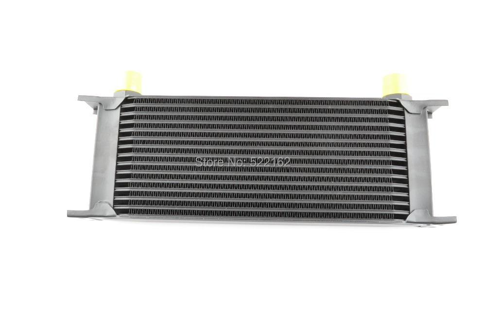 15 Row Black 10AN Aluminum Transmission Cooler  Racing Oil Cooler Raditor kit  Engine Oil Cooler  Universal<br><br>Aliexpress