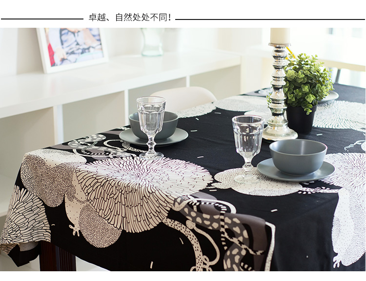 Custom Hot Sale Elegant Pure cotton Tablecloth For Wedding Party Home Table Linen Cloth Cover Textile Decoration NO.2001(China (Mainland))