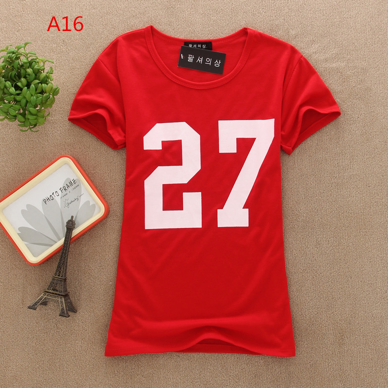 Women t shirts tops fashion summer lovely is hot short-sleeve T-shirt women's children designs shirts graphic tees(China (Mainland))