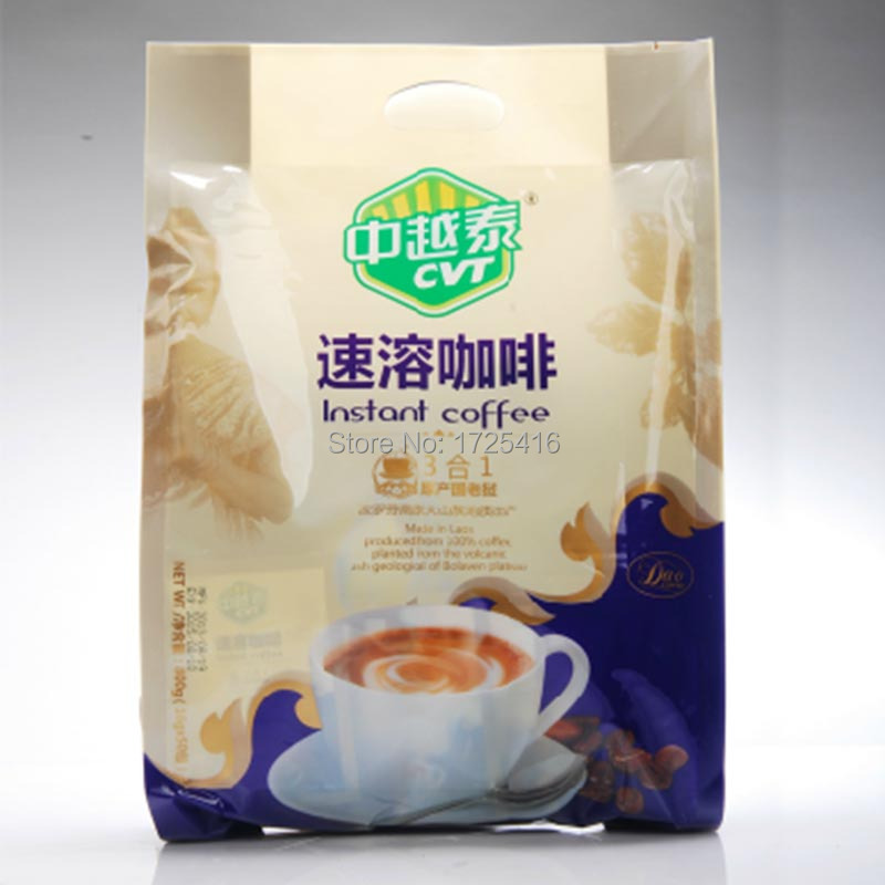 CVT Laos imported triple instant coffee 800g free shipping