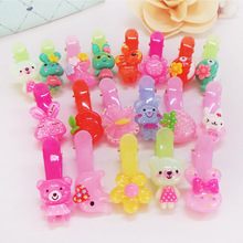 Buy 20pcs Kids Baby Children Animal Hair Clip Flower Barrette Cute Bear Hairpin Accessories Girl Bow Headwear Hairgrip Hairclip for $2.80 in AliExpress store