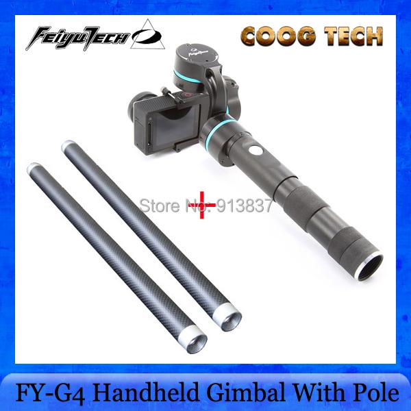 Здесь можно купить  Factory Guarantee Feiyu Tech Newest FY-G4 3 axis handheld gimbal Steadycam Gimbal With 2PCS Gimbal reach for gopro3 / 3 + / 4  Бытовая электроника