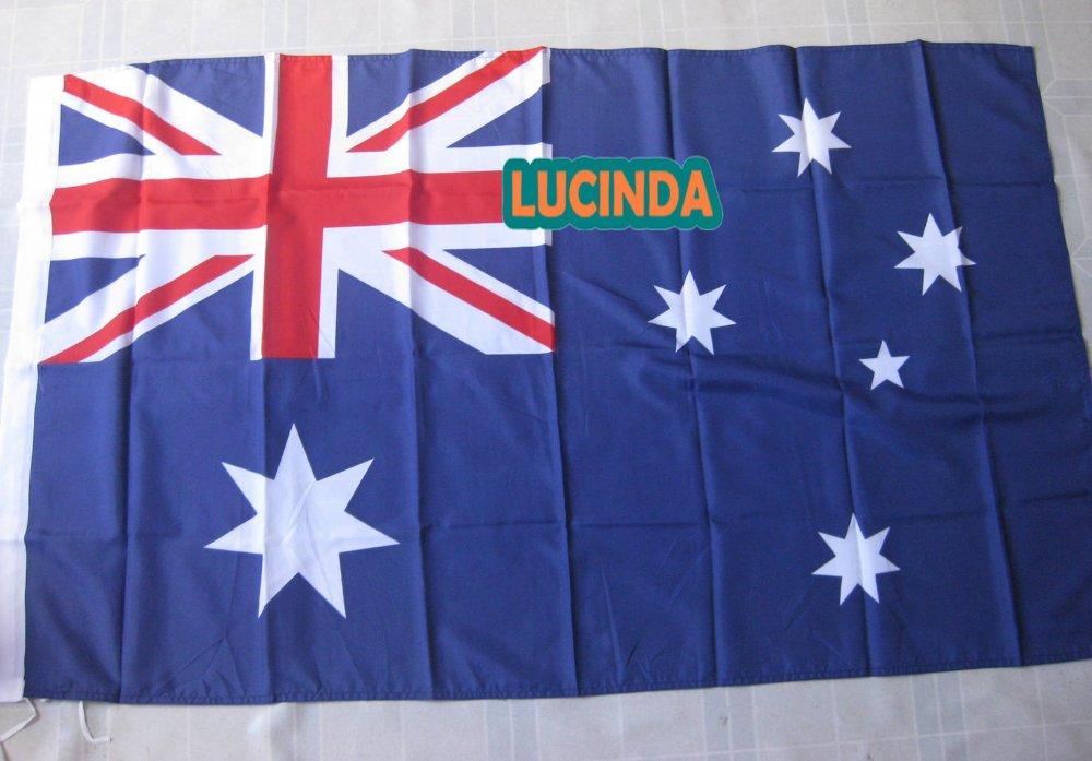 ( 4 ' x 6 ) Australia flag double stitched 125 190 cm - Lucinda store