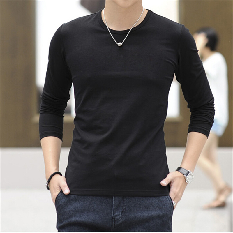 Free shipping solid color plus size round neck t shirts for Free gym t shirts