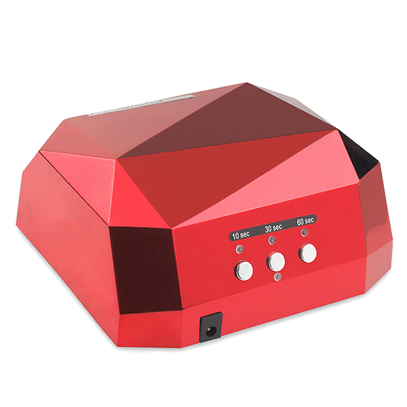 36W UV Lamp LED Ultraviolet Lamp UV Nail Dryer Nail Lamp Diamond Shaped CCFL Curing for UV Gel Nails Polish Nail Art Tools-1006(China (Mainland))