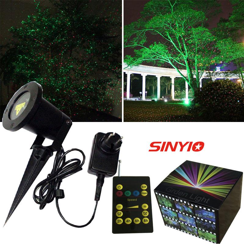Red green landscape outdoor led laser light show waterproof garden laser lights in stage - Outdoor laser light show ...