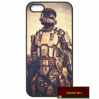 Top brand Halo 5 GUARDIANS Logo Cover case for iphone 4 4s 5 5s 5c 6 6s plus samsung galaxy S3 S4 mini S5 S6 Note 2 3 4 zw0238