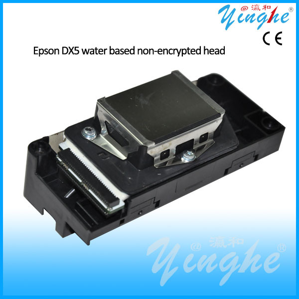 Original high quality water based non-encrypted DX5 head for ECO solvent printer,solvent printer parts(China (Mainland))