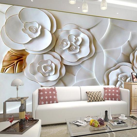 Acheter moderne bref 3d papier peint pour for Papier peint pour salon moderne