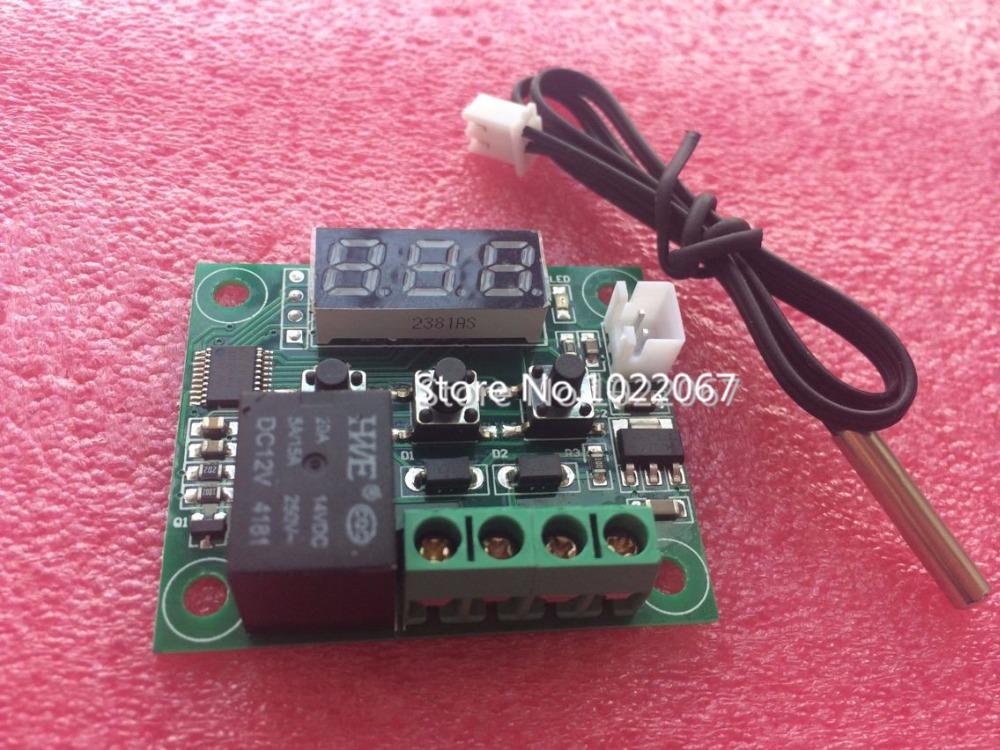 Freeshipping W1209 Mini thermostat Temperature controller Incubation thermostat temperature control switch