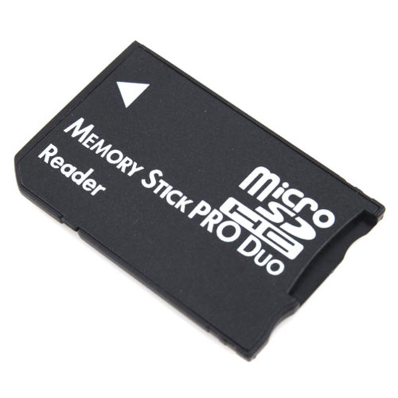 Hot Sale Micro SD TF to Memory Stick MS Pro Duo Reader for PSP Adapter Converter #10243(China (Mainland))
