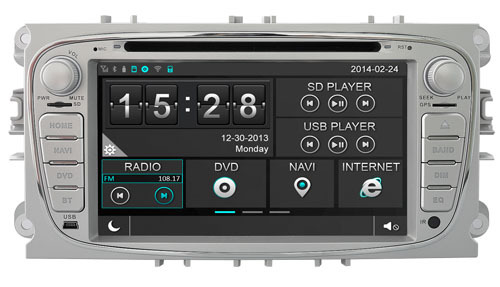 """7"""" Capacitive Touch Car DVD for Ford Mondeo 2007-2011 & Galaxy 2011-2012 & S-Max 2008-2011 (Silver & Black Colors Available)(China (Mainland))"""