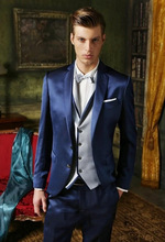 Compare Prices on Shiny Blue Suit Men- Online Shopping/Buy Low ...