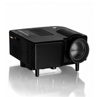 DHL FREE SHIPPING GP5S Mini Portable LED Projector With 320x240P HDMI VGA Projector + HD HDMI Cable + Audio Cable