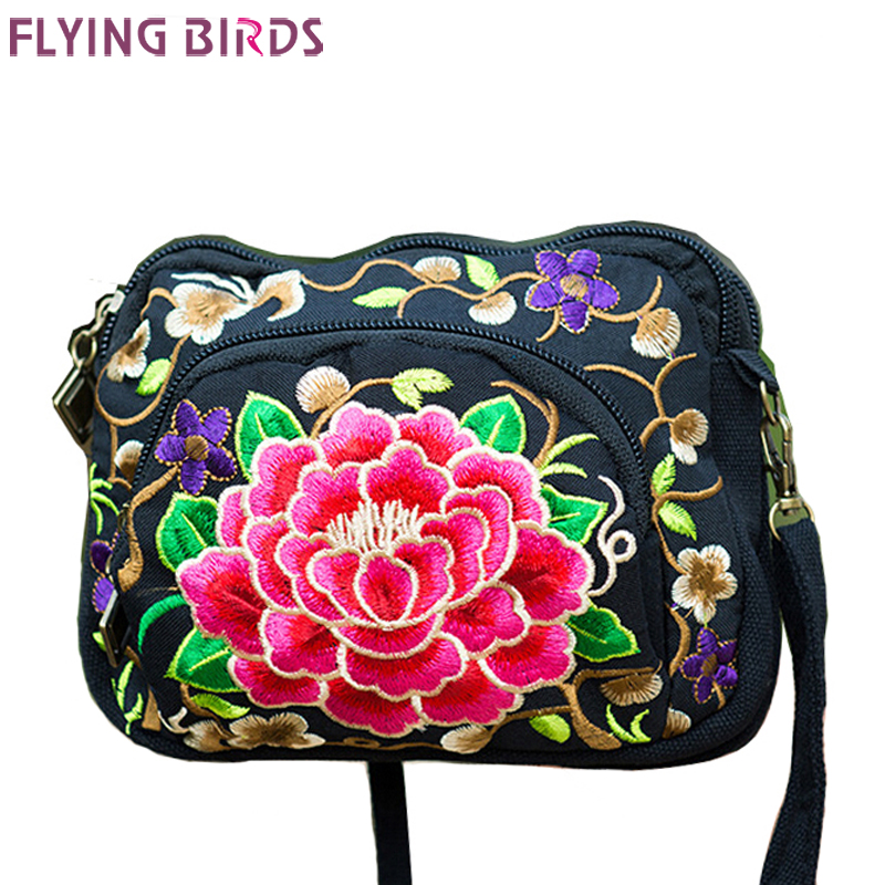 Flying birds! new bolsa feminina fashion National style women handbags messenger bags shoulder bag Embroidery clutch LS5373<br><br>Aliexpress