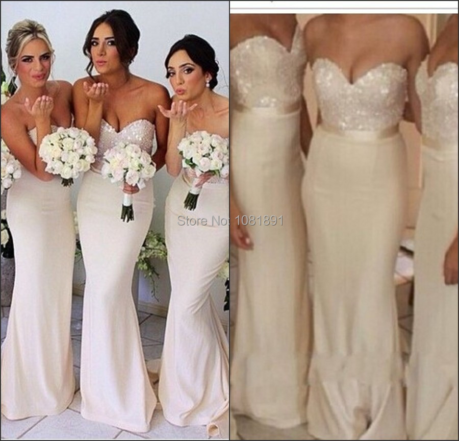 Ivory wedding dress white bridesmaids – Top wedding USA blog