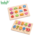 Toys for Children Puzzle Baby Toy Wooden Educational for Kids Shape Number