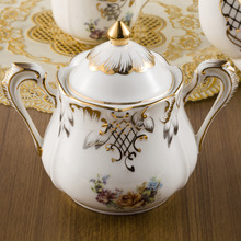 2015 coffee cup set European design bone china Coffee sets suits