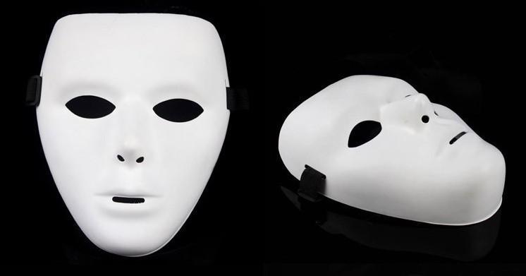 jabbawockeez mask dance hip-hop PVC masquerade party masks male female halloween wear 10 - You Are Beautiful 2016 store