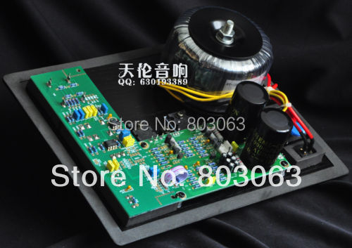 SUB-150 Active Pure bass subwoofer amplifier board + panel+ Transformer(China (Mainland))