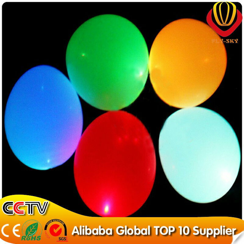 50pcs/lot, 2014 hot selling wedding inflatable LED ballon for decoration With CE&ROHS Free Shipping(China (Mainland))