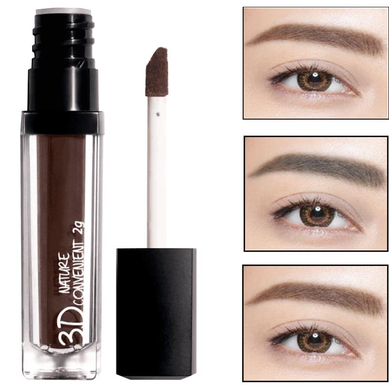 Makeup eyebrow pencil and eyebrow powder combo Waterproof long-lasting Four-color Natural eyebrow Fiber brush head Beautiful(China (Mainland))