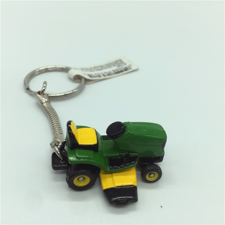 ERTL Deere 4410 keyring die-cast steel mannequin vehicles
