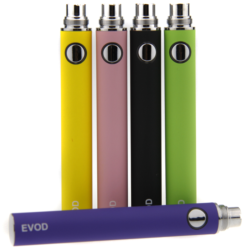 10pcs/lot EVOD Battery 650mAh 900mAh 1100mAh E-cigarette ego evod Battery Electronic Cigarette e cig for MT3 CE4 H2 atomizer