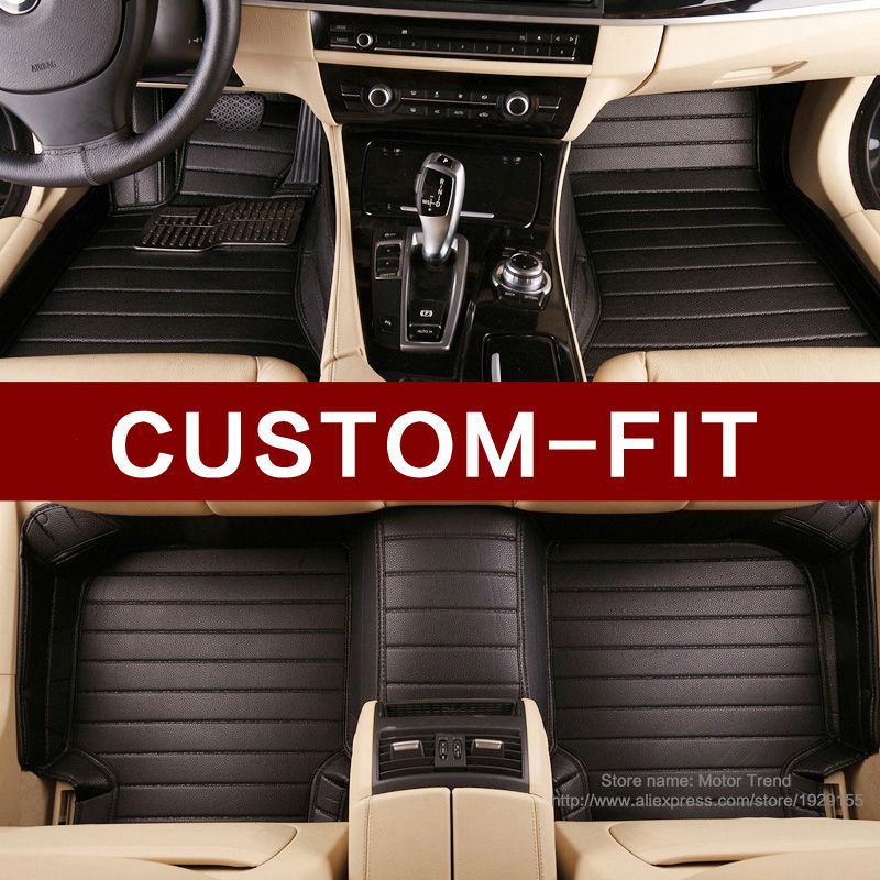 Custom fit car floor mats Special for Nissan patrol Y62 3D car styling all weather heavy duty carpet rugs floor liners(China (Mainland))